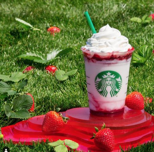 Strawberry Frappuccino