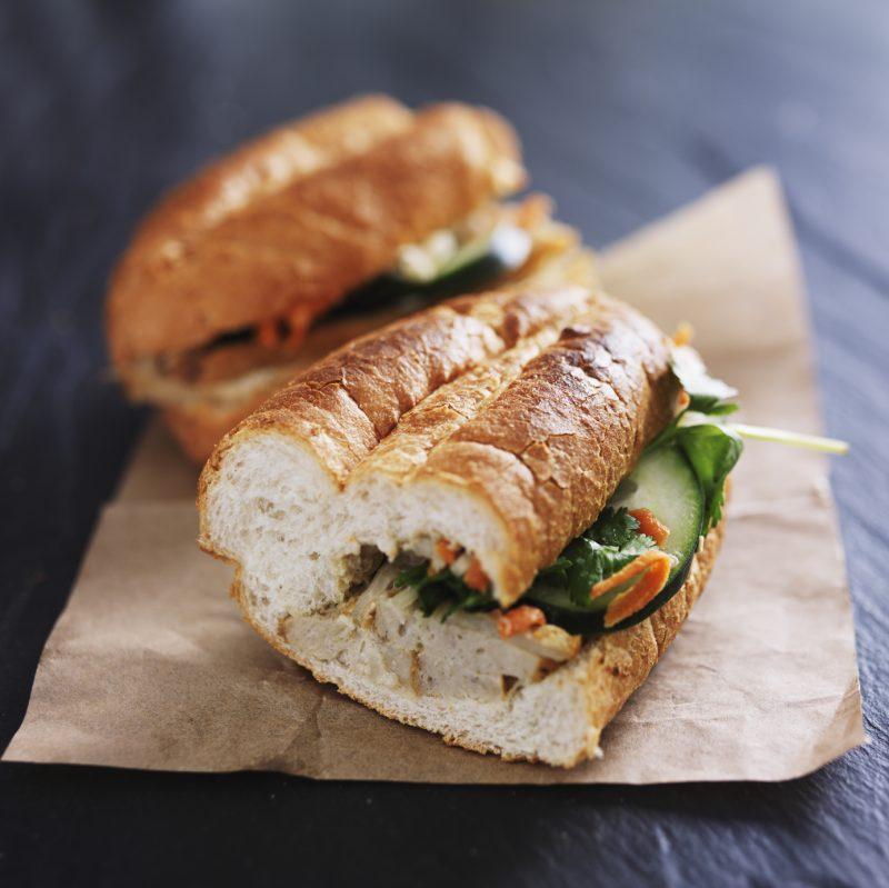 Bean's List Vietnamese sandwich