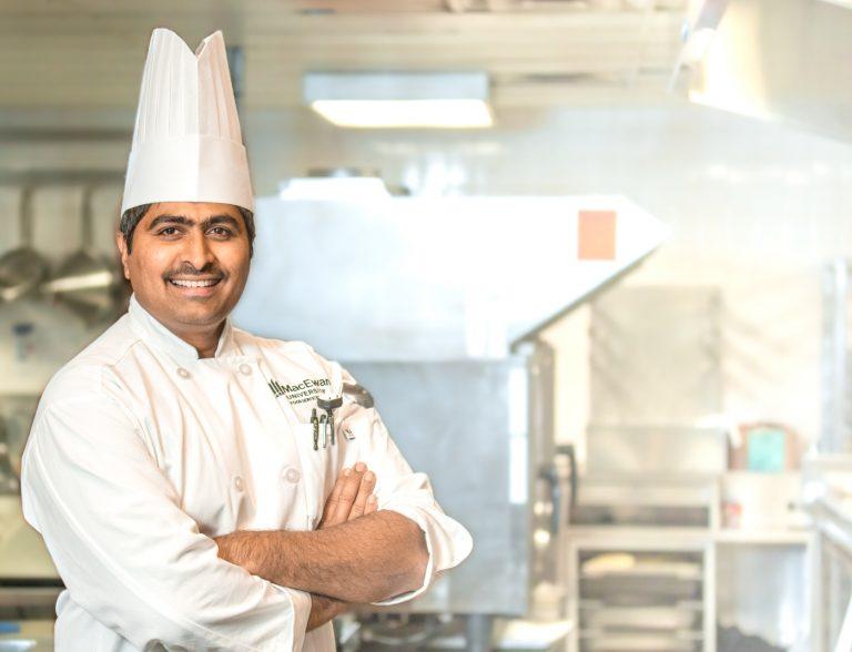 MacEwan Eats Chef Siva Atmakuri